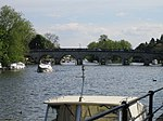Bridge over the River Thames at Maidenhead.
