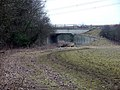 Bridleway passes under the A602. - geograph.org.uk - 117637.jpg
