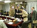 Brigadier Levey Welcomes NATO ACP Members to Camp Eggers (4382750508).jpg