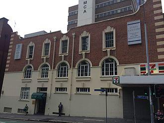 BAFS Building - Brisbane Associated Friendly Societies (BAFS) Building, Turbot Street facade, 2015