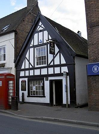 Listed buildings in Bridgnorth - Image: British Legion, Bridgnorth