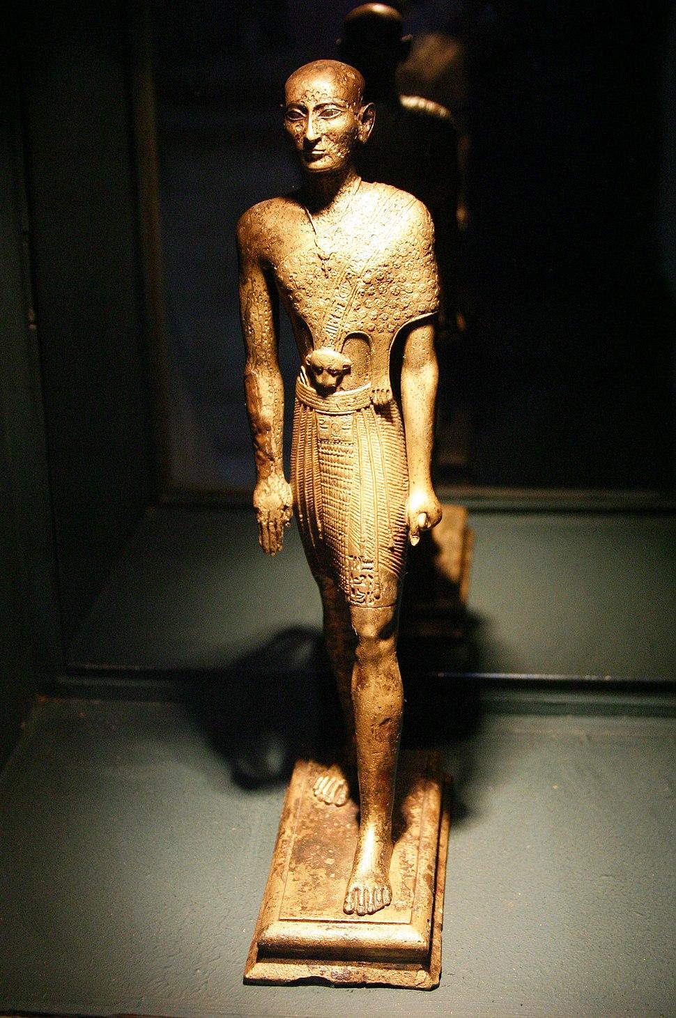Bronze egyptian priest (6th century B.C.) - Ephesus Museum