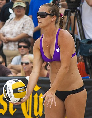 Brooke Sweat - Image: Brooke Sweat at Hermosa Beach 2012 (cropped)