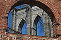 Brooklyn Bridge through a 19th century warehouse window.JPG
