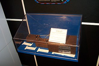 "Ralph H. Baer - The ""Brown Box"" prototype at display at the Smithsonian Institution"