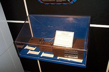 "English: The ""brown box"" prototype o..."