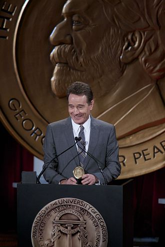 Walter White (Breaking Bad) - Bryan Cranston accepting the Peabody Award for Breaking Bad at the 73rd Annual Peabody Awards