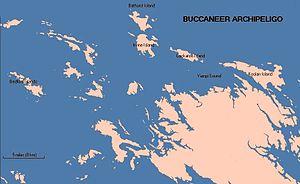 Cockatoo Island (Western Australia) - Map of Buccaneer Archipelago