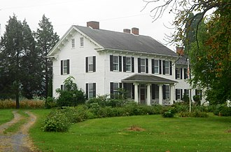 National Register of Historic Places listings in Centre County, Pennsylvania - Image: Bucher Ayres House Centre Co PA