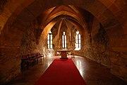 Buda castle interior church