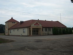 Fire-station in Jabłonka