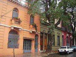 19th architecture in San Cristóbal, once ubiquitous in Buenos Aires