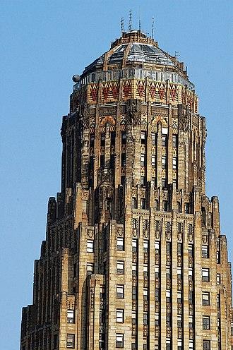 Architecture of Buffalo, New York - Art Deco detail of Buffalo City Hall