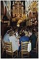 Buffet in de Grote of St. Bavokerk t.g.v. het jaarlijks congres van de Vereniging van Nederlandse Gemeenten. NL-HlmNHA 54036889.JPG