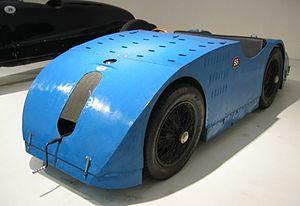 Ponton (car) - 1923 Bugatti Type 32 'Tank'