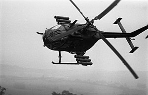 MBB Bo 105 - German Army Bo 105, 1986