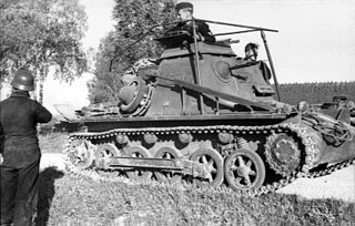 Sd.Kfz. 265 <i>Panzerbefehlswagen</i> Type of Light tank