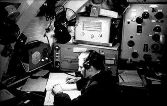 B-Dienst - Enigma radioman aboard U-124 March 1941
