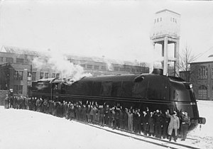 05 001 on delivery in March 1935