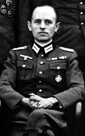 Reinhard Gehlen - Colonel Reinhard Gehlen, c. 1943