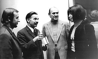 Irmtraud Morgner - Morgner (right) at the 7th Congress of GDR Writers