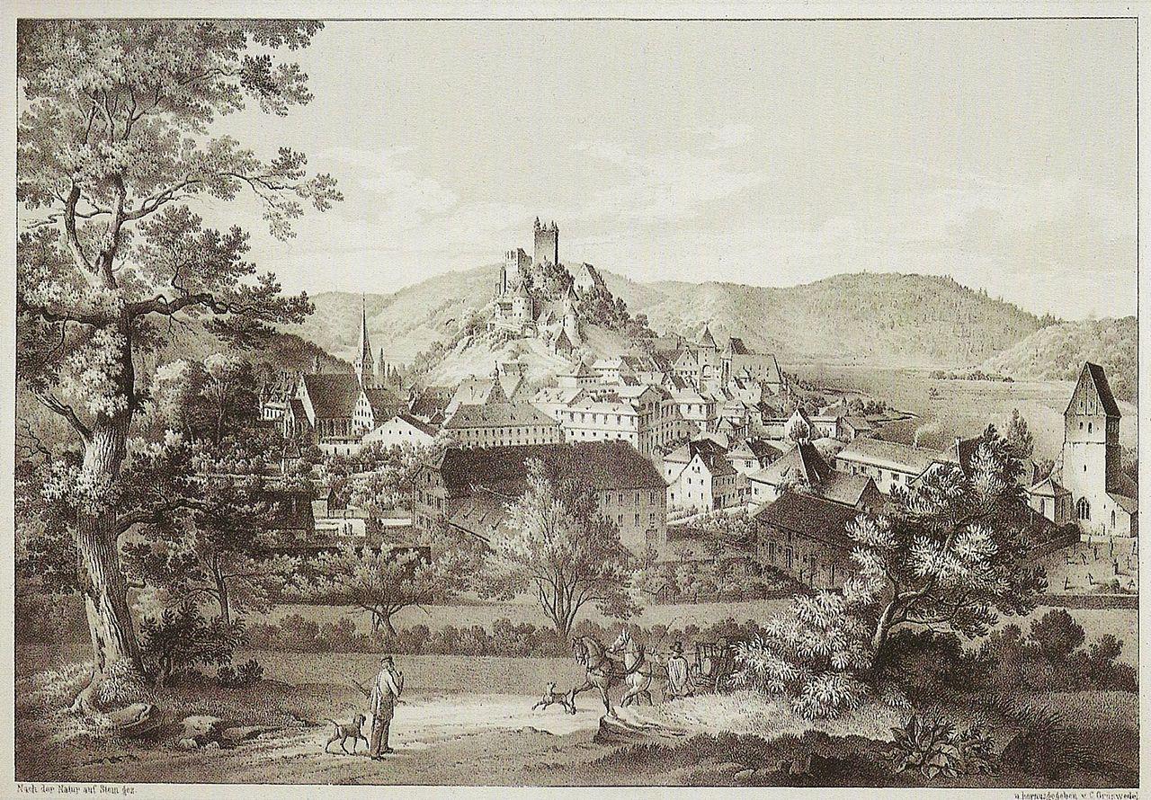 Burg Pappenheim, Historische Ansicht09.JPG