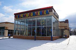 Burger King advertising - A Burger King Kids Club Fun Center location in Westland, Michigan