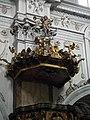 Burgusio-Burgeis, Abbazia di Monte Maria, pulpit 003.JPG