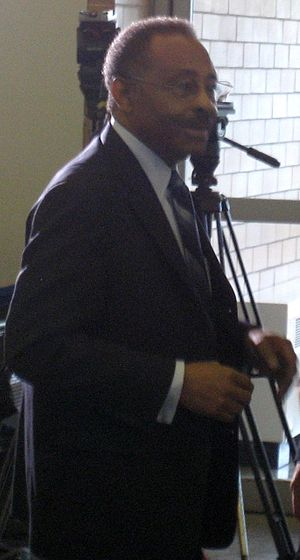 Roland Burris - Burris speaking in 2009