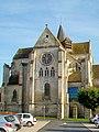 Bury (60), église Saint-Lucien, chœur et transept depuis l'ouest, 31.10.2012 01.jpg