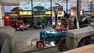 Bury Transport Museum - Image: Bury Transport Museum Interior April 2017 01