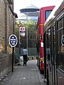Bus stop at Morrisons Chalk Farm NW1 - geograph.org.uk - 1900388.jpg