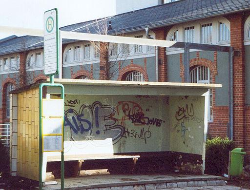 Bushaltestelle Breitscheidstraße Ilmenau