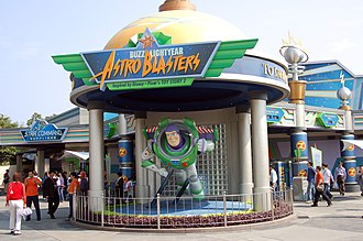 Buzz Lightyear's Space Ranger Spin - Former site of Buzz Lightyear Astro Blasters at Hong Kong Disneyland