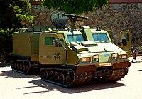 Un Bv 206S del Ejército de Tierra.