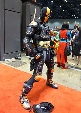 Cosplay de Deathstroke