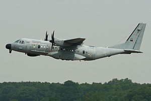 401 Squadron (Portugal) - EADS CASA C-295 maritime patrol variant aircraft from 502 Squadron