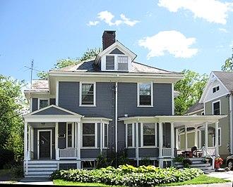 Calvin Coolidge House - Calvin Coolidge House, September 2012