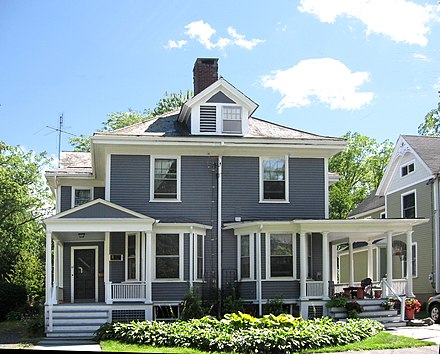 Coolidge's home (1906-1930) in Northampton, Massachusetts CC19-21Masasoit.JPG