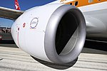 CFM International CFM56-7B24E engine mounted on Qantas (VH-XZP) Boeing 737-838(WL).jpg
