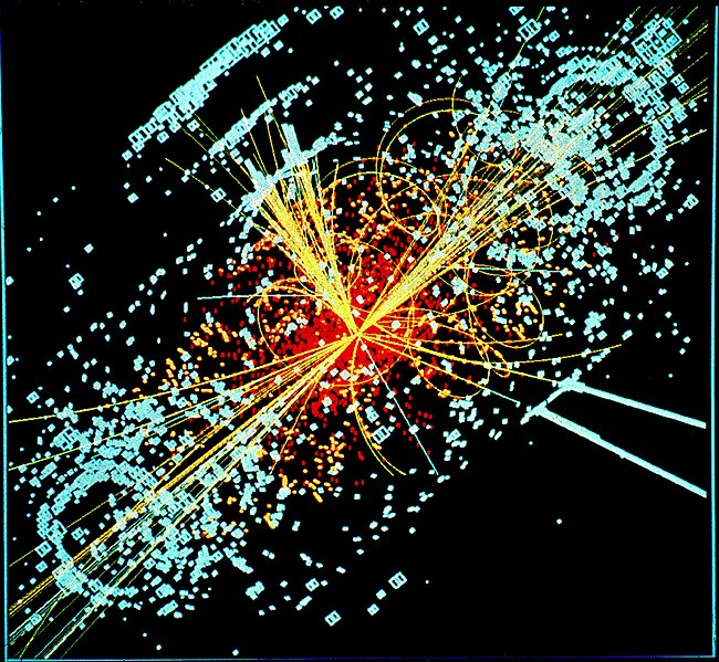 Now well known shape of a Higgs Boson, computer generated from Wikipedia
