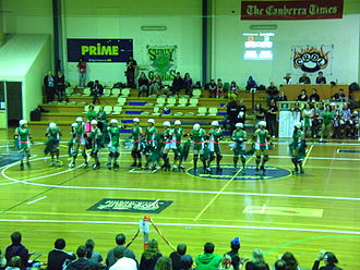 Canberra Roller Derby League - Surly Griffins introduction