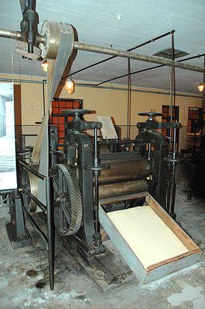 Calender - Old calender machine