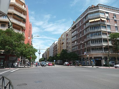 Wie Komme Ich Zu Calle De Odonnell In Madrid Mit Dem Bus Der Metro