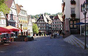 Calw - Market square