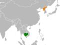 Cambodia North Korea Locator (cropped).png