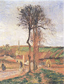 Camille Pissarro - Route d´Ennery à L´Hermitage - 1878.jpg
