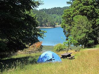 Saturna Island - Camping at Narvaez Bay.