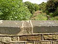 Canal bridge parapet. - geograph.org.uk - 539882.jpg