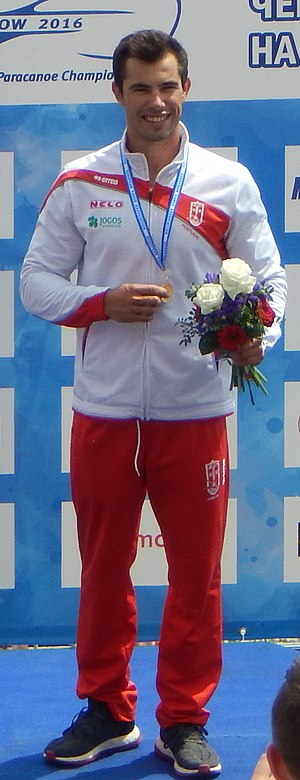 Fernando Pimenta - European Championships in Moscow, 2016